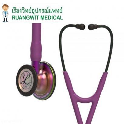หูฟัง 3M Littmann Cardiology IV Plum หัวสีรุ้ง (6205)