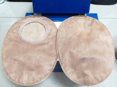 ถุงอุจจาระปลายปิด Convatec 70 มม. (รหัส 416412) (รุ่นใหม่-ผ้าอ่อนนุ่ม-มีชาโคล)