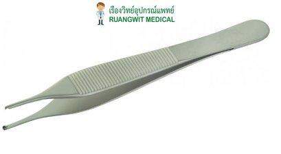 Adson Tissue Forcep 1x2T 12cm - EM (E12-0320)