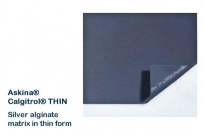 Askina Calgitrol Thin 10x10 cm (เกรดเดียวกับ acticoat)