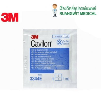 3M Cavilon No Sting Barrier Film Wipe แบบเช็ด (1 ml) (3344E)