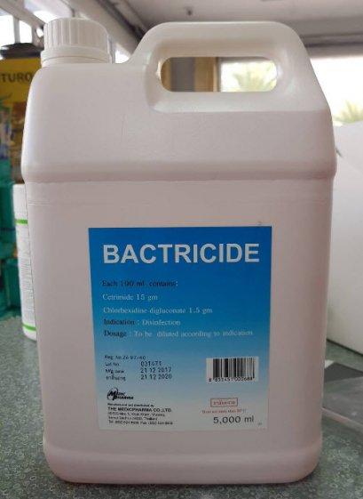 Bactricide 5,000 mL น้ำยาฆ่าเชื้อเครื่องมือทางการแพทย์และอื่นๆ