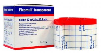 Fixomull Transparent แผ่นฟิล์มใสกันน้ำ 5 cm x 10 M