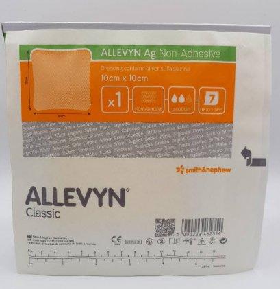 Allevyn Ag Non-adhesive 10x10 cm
