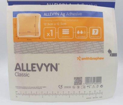 Allevyn Ag Adhesive 12.5x12.5 cm