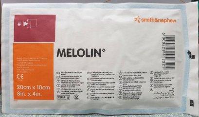 Melolin เมโลลิน แผ่นซึมซับชนิดไม่ติดแผล 20x10 ซม.