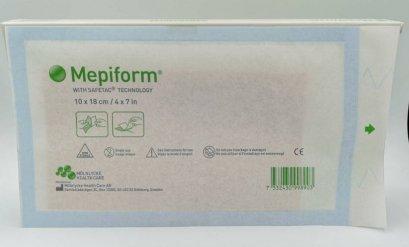 Mepiform Silicone Gel Sheet 10x18 cm แผ่นซิลิโคนลดรอยแผลเป็นขนาดใหญ่