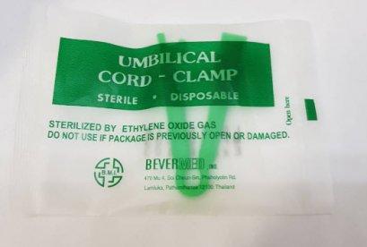Umbilical Cord Clamp คลิปหนีบรก exp 03-2024