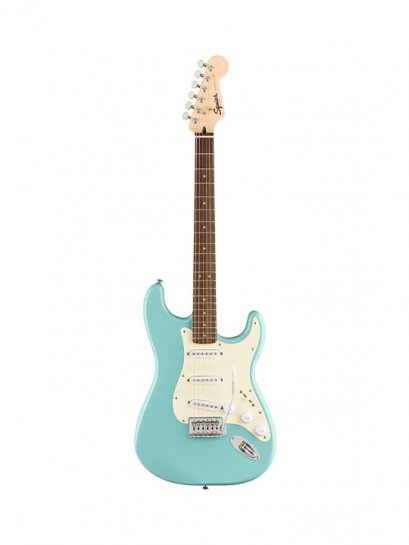SQUIER Bullet® Strat® with Tremolo - Tropical Turquoise Indian Laurel Neck