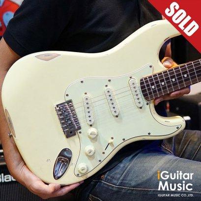 Paul Ray Guitars ST-1 - Cream SSS