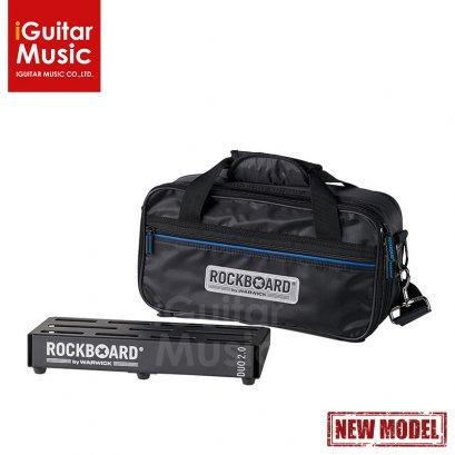 RockBoard DUO 2.0 Pedalboard with Gig Bag