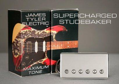 James Tyler Pickups® Supercharged Studebaker – Bridge Chrome