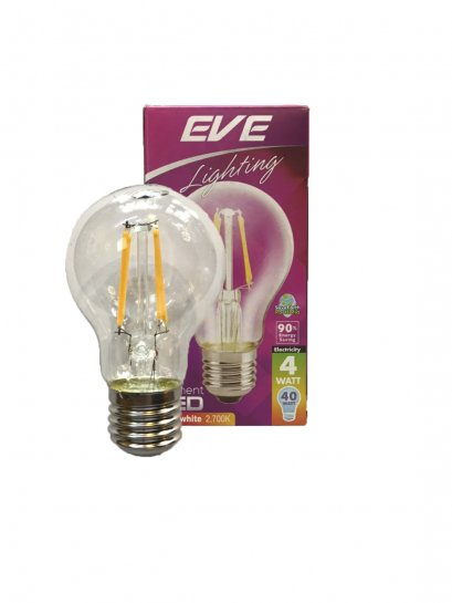 "LED Filament GLS 4W E27 2,700K ""EVE"""