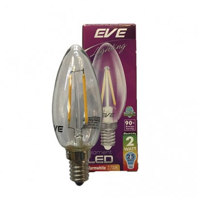 "LED Filament Candle 2W E14 2,700K ""EVE"""