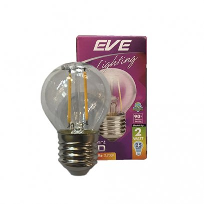 "LED Filament G45 2W E27 2,700K ""EVE"""