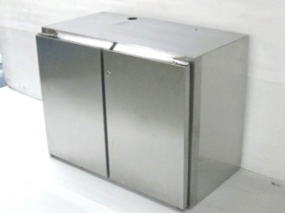 CABINET WITH 2 HINGED DOORS
