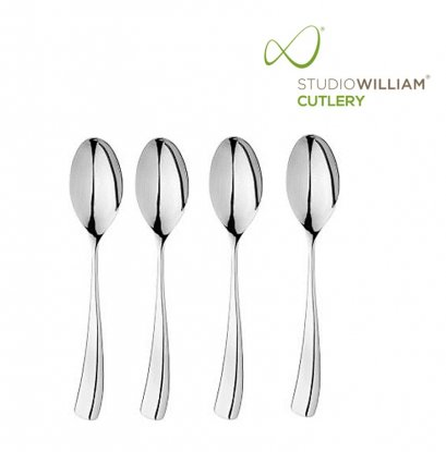 STUDIO WILLIAM Larch Mirror - Dessert Spoon 188 mm. (4 pieces/set)