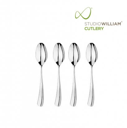 STUDIO WILLIAM Larch Mirror - English Teaspoon 132 mm. (4 pieces/set)