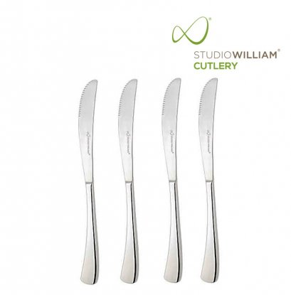STUDIO WILLIAM Larch Mirror - Steak Knife 240 mm. (4 pieces/set)