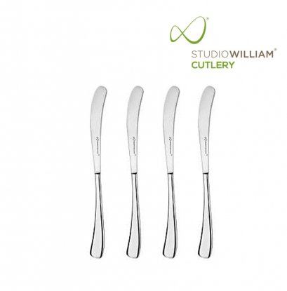 STUDIO WILLIAM Larch Mirror - Butter Knife 172 mm. (4 pieces/set)