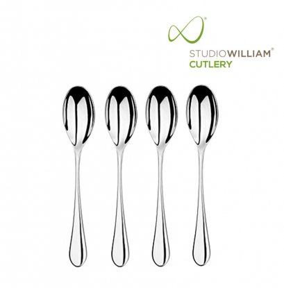 STUDIO WILLIAM MULBERRY MIRROR DESSERT SPOON 188MM
