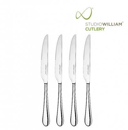 STUDIO WILLIAM MULBERRY MIRROR STEAK KNIFE 245MM