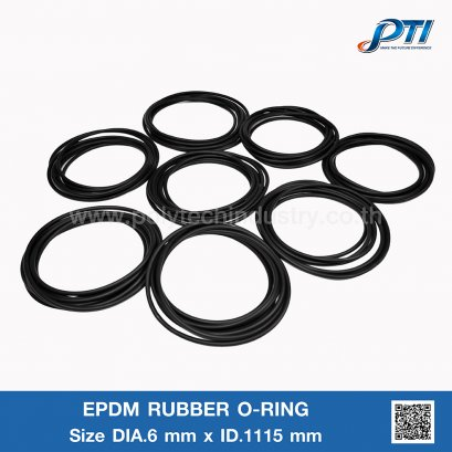 EPDM RUBBER O-RING DIA.6 mm