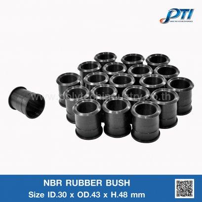 NBR RUBBER BUSH ID.30 x OD.43mm
