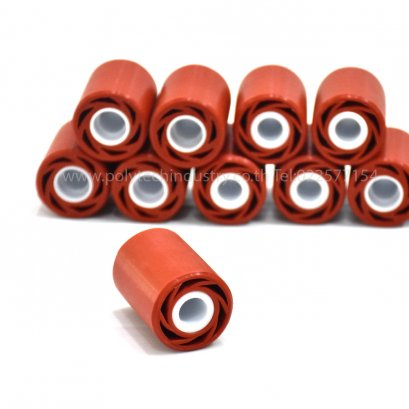Firebrick Silicone Rubber Roller
