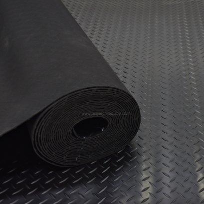 Diamond Patterned Rubber Mat