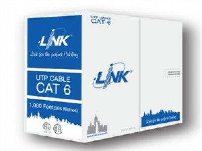 สายแลน CAT6 UTP Outdoor Double Jacket ของ LINK (305m./ม้วน)