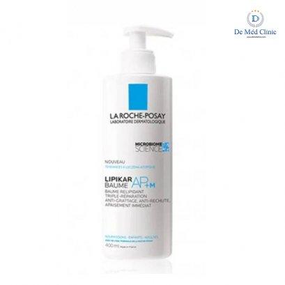 LIPIKAR BAUME AP+ 400 ml  บาล์มบำรุงผิวสูตรสำหรับ ผิวแห้ง มาก ให้ความชุ่มชื่น ช่วยลดอาการคัน และการระคายเคืองจากผิวที่แห้งมาก