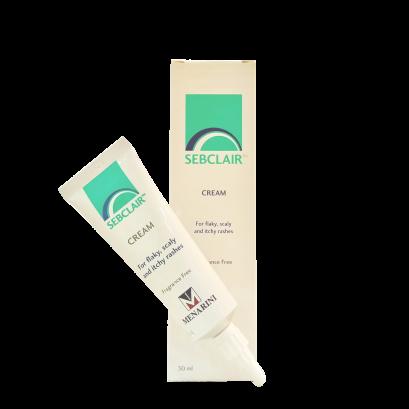 Sebclair Cream 30 ml.. (บรรเทาผื่น ผิวหนังอักเสบ Seb Derm )