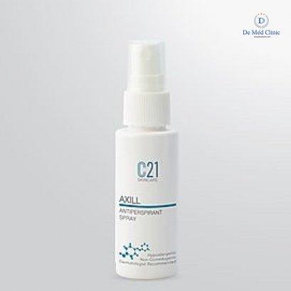 C21 Axill Antiperspirant Spray by DeMed Clinic 40 ml สเปรย์ลดเหงื่อและกลิ่นกายใต้วงแขน