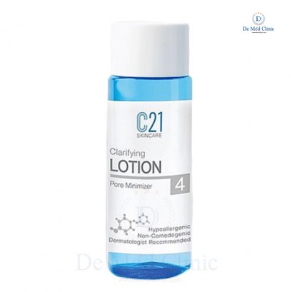 C21 TONER no.4 โทนเนอร์ 100 ml. ทำความสะอาดผิวสำหรับผิวมัน ลดรูขุมขน Dr. Ruj DeMed Clinic