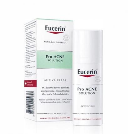 Eucerin Pro Acne Solution ACTIVE CLEAR  ยูเซอริน โปรแอคเน่ โซลูชั่น