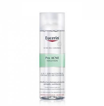 Eucerin Pro Acne Solution 4in1 Sebum Control OXYMicellar Cleanser 200 ml.