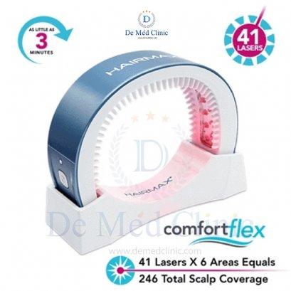 HairMax LaserBand 41 – ComfortFlex แบบที่ผมคาดผม ***พิเศษเฉพาะที่ DeMed Clinic เท่านั้น*** / ิแถมพิเศษโปรแกรม Triple H Treatment ดูแลผมร่วงผมบาง1 ครั้ง