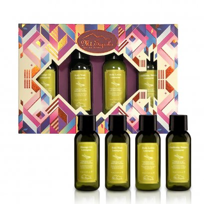 Body Spa Travels Pack, Lemongrass