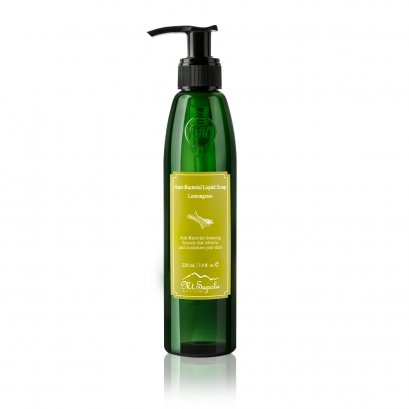 Anti-Bacterial Liquid Soap, Lemongrass, 220ml.