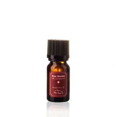 Rose Absolute, 10%, in Jojoba Oil, 10 ml.