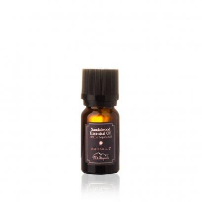 Sandalwood Essential Oil, 10%, in Jojoba Oil, 10 ml.