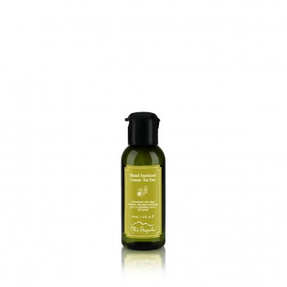 Hand Sanitizer Gel, Lemon-Tea Tree