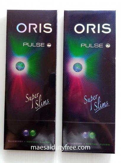 Oris Pulse Blueberry + Menthol Fusion 2เม็ดบีบ