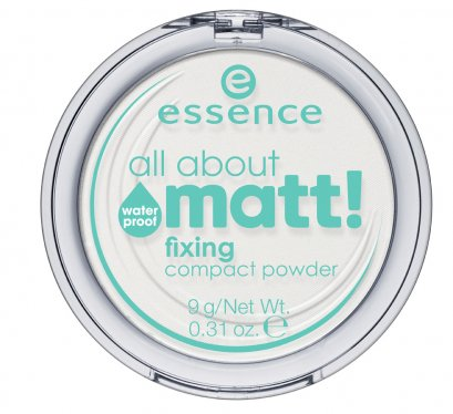 ess. all about matt! fixing compact powder waterproof