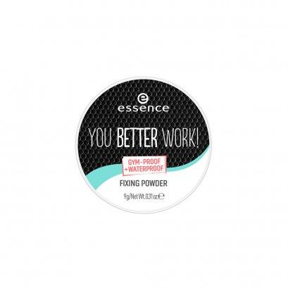 essence you better work! fixing powder