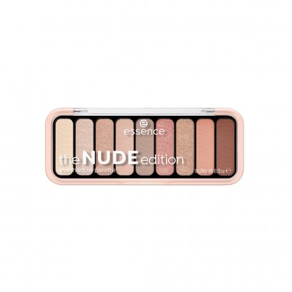 essence the NUDE edition eyeshadow palette 10