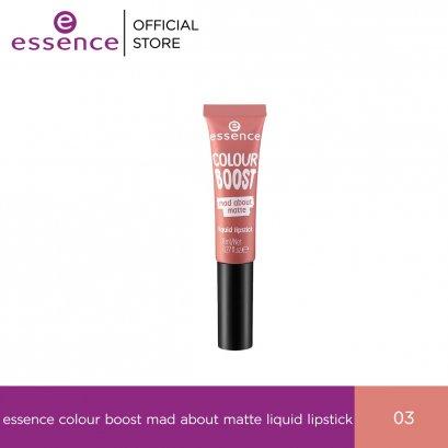 ess. colour boost mad about matte liquid lipstick 03