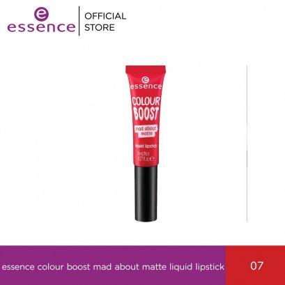 ess. colour boost mad about matte liquid lipstick 07
