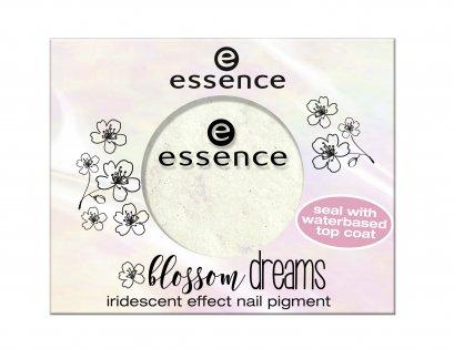 ess. blossom dreams iridescent effect nail pigment 01